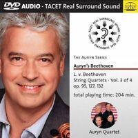 Auryn Quartett - Auryn's Beethoven: String Quartets Vol 3 von 4 [DVD AUDIO]