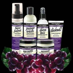 Aunt Jackie's Grapeseed Collection Hair Styling Products