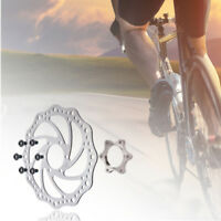 Bike Freewheel Threaded Hubs Disc Brake Rotor Bolt Flange Adapter 6 Hole New 889