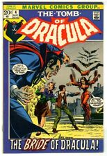 Tomb of Dracula #4 (1972) VF/NM New Marvel Collection