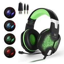 Gaming Headset KOTION EACH G1000 Professional 3.5mm PC Bass Stereo Headphones AU