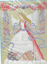 Jeanette Crews Counted Cross Stitch Kit, ANGEL OF THE NEEDLE, KIT mpn 40111