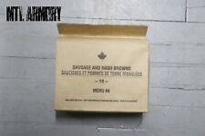 #04 Canadian Forces  IMP MRE Ration Canada Army (Meals Ready-to-eat)
