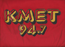 """Brand New"" KMET 94.7 T SHIRT < PANAMA RED > EXTRA EXTRA LARGE < XXL 2X"