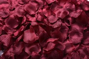 2000/1000pcs Rose Petals Artificial Flower Petal Wedding Party Decoration