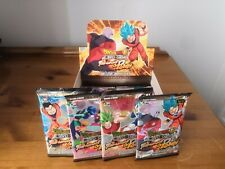 4 x Tournament Of Power Boosters All Artworks Sealed French Dragon Ball Super