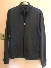 Hugo boss Zip Up Mens Jacket Size Medium Blue