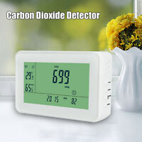 YEH-40 LCD Carbon Dioxide Detector CO2 Monitor Indoor Temperature Humidity Meter