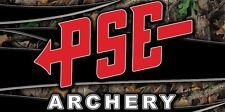 PSE  Archery Bow Shop Bow Hunting Cabin Camp Vinyl Banner Wall Sign 2x4'