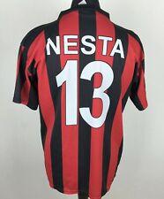 Nesta #13 Ac Milan 2003/2004 Home Football Shirt Men's Size L/Xl Replica Jersey