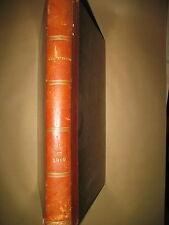 INONDATIONS A PARIS CHANTECLER COMETE DE HALLEY L'ILLUSTRATION 1er SEMESTRE 1910