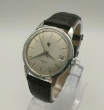Vintage LIP Dauphine hands Manual Wind watch FHF 73-4N bauhaus calatrava SS case