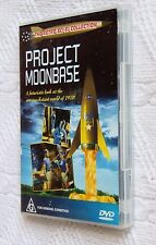 Project Moonbase (DVD) R-All, Like new (Disc:New) free post within Australia