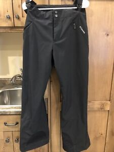 Columbia Sportswear Black Ski Pants Women's Medium Used