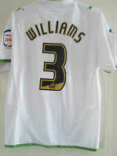 Marcus williams match worn 2010-2011 lecture troisième football shirt/40253