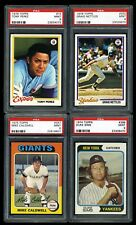 1970's Topps Baseball Cards Lot of 4 All PSA 9 Mint 1978 Tony Perez 1974 1975