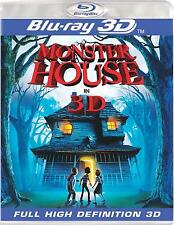 Monster House(Blu-ray Disc, 2010, 3D)