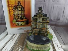 dept 56 village Halloween tricks or treats 59339 candy bowl dish house home