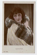 LYA de PUTTI silent film star actress VINTAGE ORIG Photo Postcard ROSS VERLAG