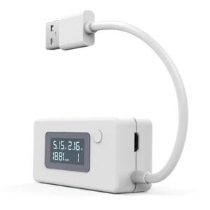 Neue Förderung digitaler LCD USB Ladegerät Kapazität Spannung Tester Ampere