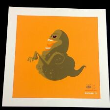 Tom Whalen Ghostbusters Art Print Poster Slimer Slime'd Limited Edition #/75