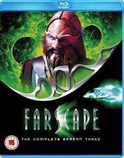 Farscape - The Complete Season 3 David Franklin, NEW UK Region Free Blu-ray