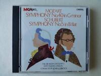 Mozart Symphony no 40 Schubert no 5 Orchestra of St John's Lubbock (MCA CD)
