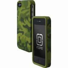 Incipio EDGE Hard Slider Case fo iPhone 4/4S (Green Camo Matte Touch Finish) NEW
