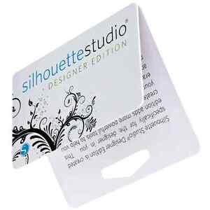 Silhouette Studio DESIGNER EDITION Software LICENSE KEY