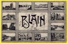 cpa 44 - Multivue Cartes Postale BLAIN en Loire Atlantique écrite en 1906