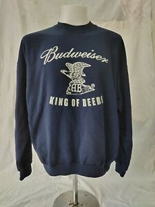 Vintage Budweiser Sweatshirt Size XL