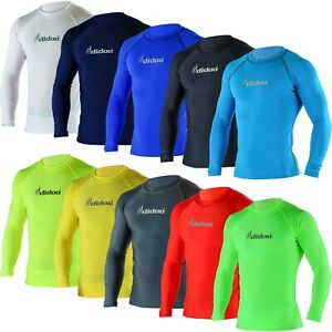 Didoo Mens Compression Base Layers Full Sleeve PowerLayer Long Thermal Shirts