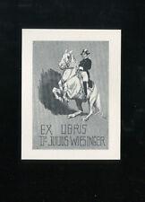 EXLIBRIS,079a, Künstler M. K. - Lipizzaner