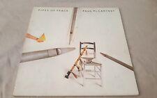 PAUL MCCARTNEY PIPES OF PEACE UK GF LP THE BEATLES RINGO STARR MICHAEL JACKSON