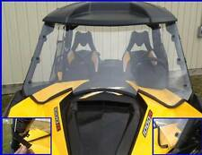 CANAM CAN AM MAVERICK HARD COATED BOTH SIDES FULL WINDSHIELD BEST