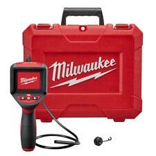 Milwaukee Inspection Camera Scope Kit M-Spector 3 ft. LED Lights LCD Screen
