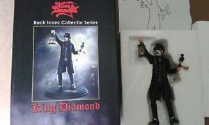 King Diamond Rock Iconz Statue 1/9 Rare KnuckleBonz Figure No Mercyful Fate