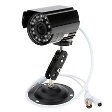 "1/4"" 800TVL Weatherproof CMOS Outdoor CCTV Security IR-CUT Camera Day Night 45DB"