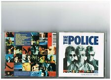 THE POLICE CD .SINGLES. THE BEST OF GREATEST HITS.ESSENTIAL.STING