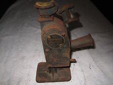 ANTIQUE WALKER No.1 BADGER CAR / TRUCK JACK, WALKER MFG Co. RACINE, WISCONSIN