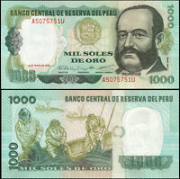 PERÚ BILLETE 1000 SOLES DE ORO. 03.05.1979 LUJO. Cat# P.118