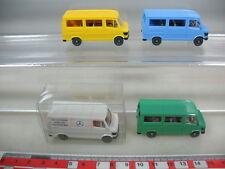 k918-0, 5 #4x Wiking HO Mercedes-Benz mb-207 D ESTATE, Transporter, 280-282, Top