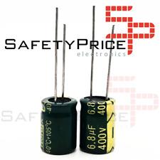 Condensador electrolítico 400 V de alta frecuencia valor 10uF jycdr