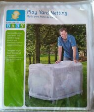 Play Yard Netting. Pack and Play mosquito net crib covering