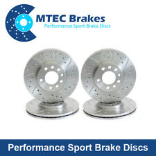Audi A6 C6 Avant 3.0 TDi Quattro Front and Rear Drilled and Grooved Brake Discs