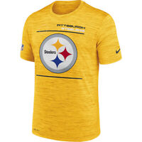 New 2021 NFL Pittsburgh Steelers Nike Sideline Velocity Legend Space Dye T-Shirt