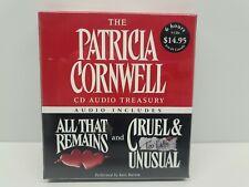 Patricia Cornwell CD Audio Treasury: All That Remains, Cruel & Unusual 5 Discs