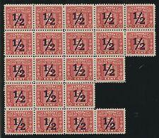 Canada Revenue Fx111 Mint Irregular Block Of 21 Nh