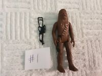Vintage Star Wars Chewbacca with Weapon 1977 #1