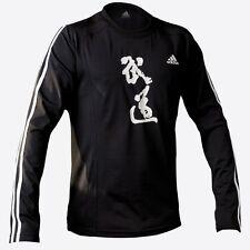 "New adidas Martial Arts ""BUDO"" Spirit Shirt Crew Neck Athletic fit Shirt Karate"